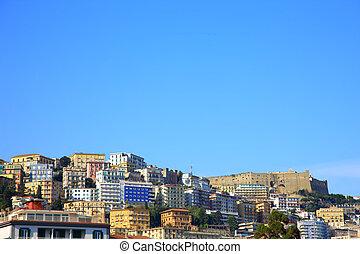 Napoli city - backgrownd shot of Napoli city
