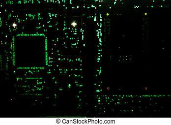 backlit, 電路板