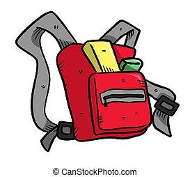Backpack doodle