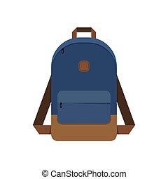 Backpack, school bag