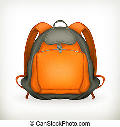 Backpack, vector