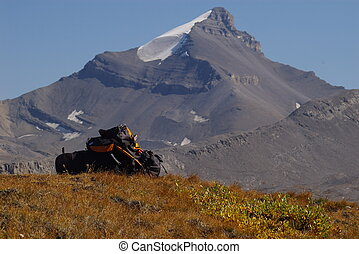 Backpacking in the Canadian Rockies