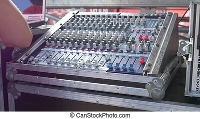 Backstage Audio Mixer