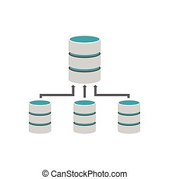Backup database. Database management.