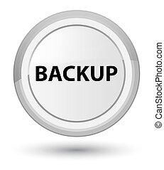 Backup prime white round button