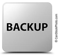 Backup white square button