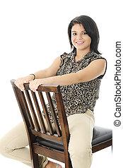 Backwards Sitting Beauty