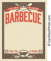 Backyard Barbecue Invitation