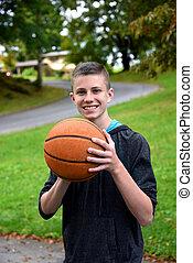 Backyard Basketball Practice