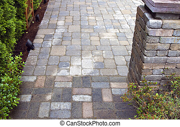 Backyard Landscaping with Pavers