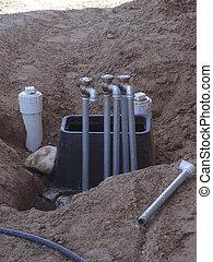 Backyard plumbing