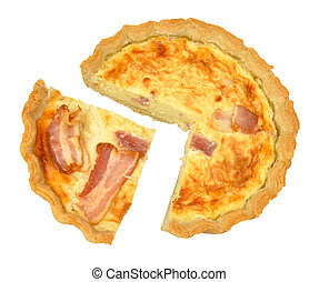 Bacon and cheese savoury Tart
