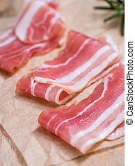 Bacon (raw)