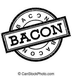 Bacon rubber stamp