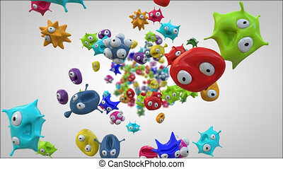 Bacteria - 3D Animation