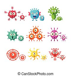 Bacteria And Virus Fun Collection