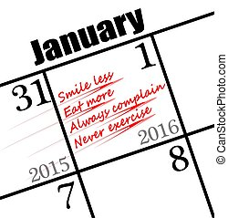bad 2016 new years resolutions - poor resolutions to make ...