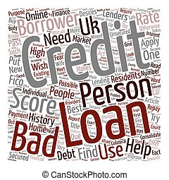 Bad Credit Personal Loan A changed attitude of lenders...