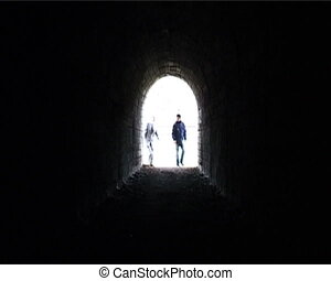 Bad deal - Man going out tunnel