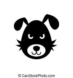 Bad dog icon