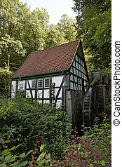 Bad Essen, water mill in Germany