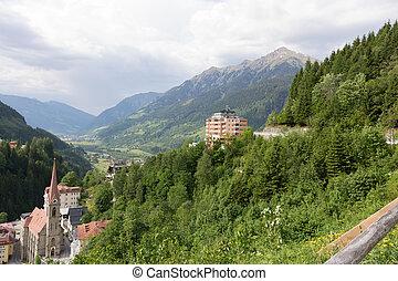 Bad Gastein, Gastein, Austria, Gasteiner Tal, Kurort, stollen.