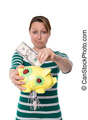 bad investment destroyed money