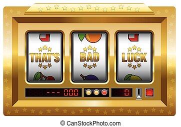 Bad Luck Slot Machine Gold