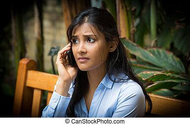 Bad news phone call