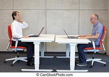 Bad sitting position correction
