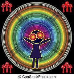 Bad Trip on Mushrooms - Drugs like LSD, Crystal Meth or...
