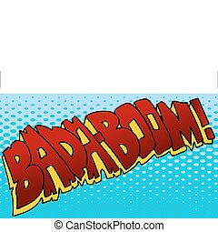 Badaboom Sound Effect