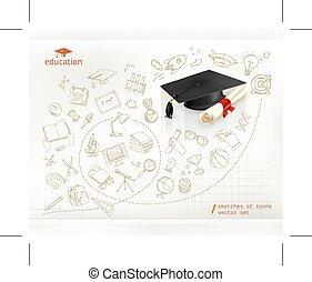 badając, i, wykształcenie