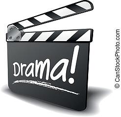 badajo, drama, tabla