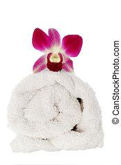 baddoek, orchidee