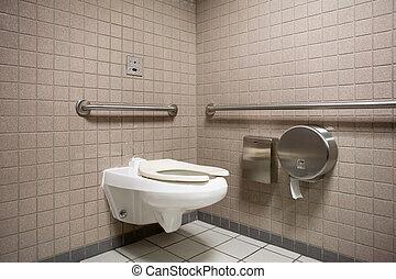 badezimmer, öffentlichkeit