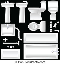 badezimmer, einrichtung