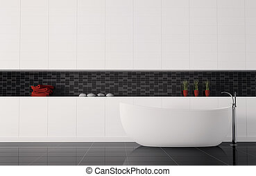 badezimmer, inneneinrichtung, 3d