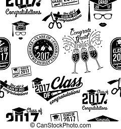 badge., 2017, vettore, classe