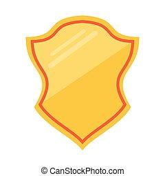 Badge emblem symbol cartoon