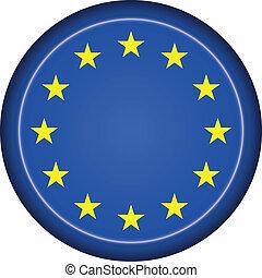 badge EU flag