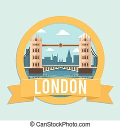 badge ribbon london bridge