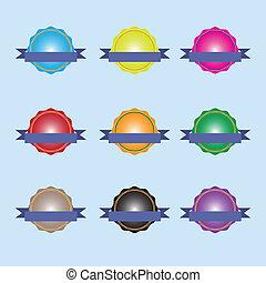 badge Set Icons