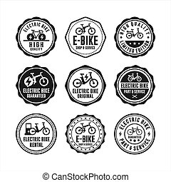 badge stamps Electric Bike collection