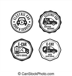 Badge stamps Electrik Car collection