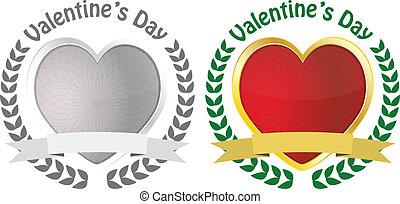 badge valentine