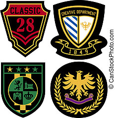 badge, vastgesteld ontwerp