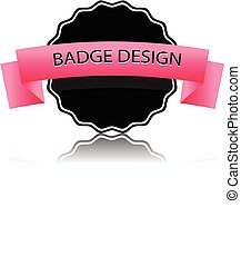 Badge vector.
