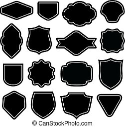 badge vector set