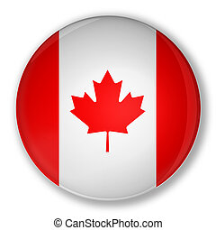 Badge with flag of Canada